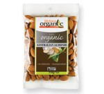 LIFEFORCE ORGANIC ROASTED ALMONDS 150GM(ACO)