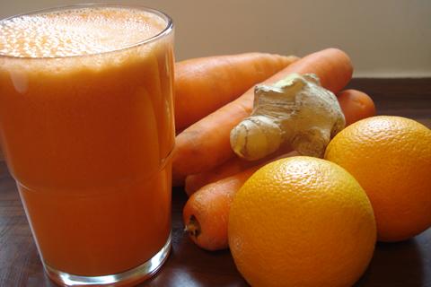 Orange Carrot lemon and Ginger Juice Recipe Red Hill Fresh