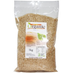 Brown Med grain Organic Rainfed Rice 5kg Red Hill Fresh