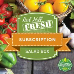 Red Hill Fresh Organic Salad Subscription Box