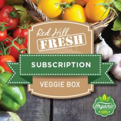 Red Hill Fresh Organic Vegetable Subscription Box